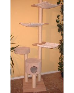 Arbre à chat de plafond JANET