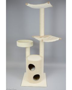 Arbre à chat JETTE - place belle et stable pour jouer et dormir