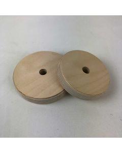 Disque en bois pour rallonger le tronc