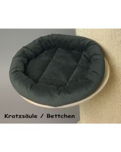 plate with bed for scratching pillar made by Petfun