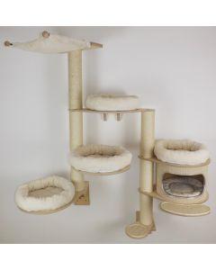 Arbre à chat pour le mur Ida - hauteur 160 cm