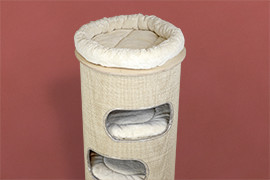 Tonneaux de sisal Pet Fun